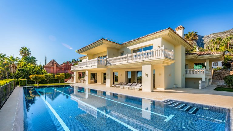 Luxury Villa in Sierra Blanca Marbella